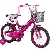 Kldoro Kd 016 Siyah Lastik 16 Jant Bisiklet Kız Çocuk Bisikleti