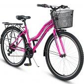 Kldoro Kd 126 Bagajlı 26 Jant Bisiklet 21 Vites Kız Bisikleti