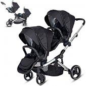 Prego 2071 İbiza Pro Travel Sistem İkiz Bebek...