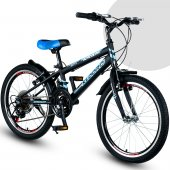 Kldoro 2024 Kram 20 Jant Bisiklet 21 Vites 7+ Yaş Üzeri Erkek Çocuk Bisikleti
