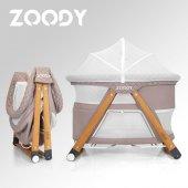 Zoody 3 İn 1 Bebek Beşiği, Oyun Parkı Ve Park Yatak