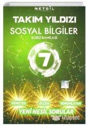 7. Sınıf Takım Yıldızı Sosyal Bilgiler Soru Bankası Netbil Yayıncılık