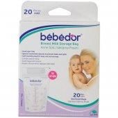Bebedor 679 Anne Sütü Saklama Poşeti 20li-2