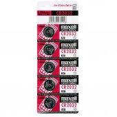 Maxell CR2032 5 li Lithium Pil
