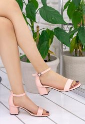 Tori Pudra Cilt Tek Bant Ayakkabı