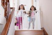 Miny Baby Otomatik Kapanır Çocuk Güvenlik Kapısı BEYAZ