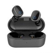 Ausdom Tw01s Gerçek Bluetooth 5.0 Kulaklık Tws Kablosuz Çift Mikrofonlu Siyah Handsfree