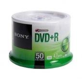 Sony Dvd+R 4.7 GB Cake 1 Paket Kutulu