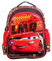 Cars Due Mechanic İk Bölmeli Kırmızı İlkokul Sırt Çantası - Frocx 5073