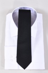 Erkek Kravat Siyah Desenli
