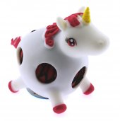 Squishy Stres Topu Kırmızı Unicorn Slime