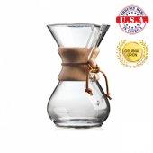 Chemex Ahşap Boyunlu 6 Cup