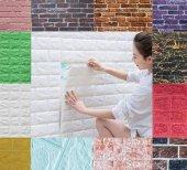70x23cm 0,16m2 Kendinden Yapışkanlı Duvar Paneli 3D Duvar Kaplama