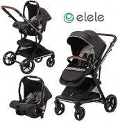 Elele Allroad 2 Travel Sistem Bebek Arabası...