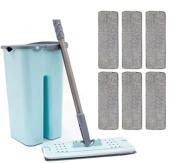 Zambak Tablet Mop Pratik Temizleme Seti + 6 Yedek Bez