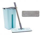 Zambak Tablet Mop Pratik Temizleme Seti + 1 Yedek Bez