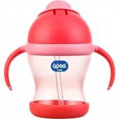 Wee Baby Kulplu Pipetli Bardak Pembe 200 ml 170