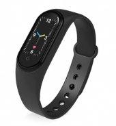 Olix M5 Smart Telefon Görüşmesi Ve Müzik Dinleme Özellikli Akıllı Bileklik Siyah