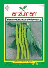 Sarı Sivri Çorbacı Biber Tohumu - 25 gr