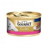 Gourmet Gold Kıyılmış Sığır Etli Kedi Konserve 85 Gr