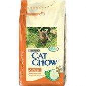 Cat Chow Yetişkin Kediler İçin Tavuklu Ve Hindili Kedi Maması 15 Kg