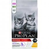 Pro Plan Original Kitten (Junior) Tavuk Etli...