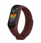 Olix M5 Smart Telefon Görüşmesi Ve Müzik Dinleme Özellikli Akıllı Bileklik Kahverengi