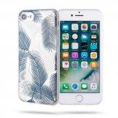 Apple iPhone SE 2020 Kılıf Yaprak Desenli Roar Gel Case