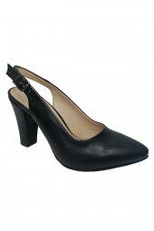 Maxsens 355-20 Deri Stiletto Kadın Ayakkabı Gizem