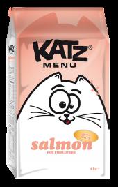 Katz Menu KEDİLER İÇİN SOMONLU 7.5KGBOX(SÜRPRİZ KUTUSU)