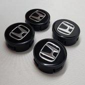 Jant Göbeği Honda 58 55 55mm Yuva 4'lü Set Siyah