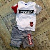 Rapapa Erkek Çocuk Spiderman Şortlu Takım 1708...
