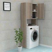 Kenzlife çamaşır makinesi dolabı evokiya crd 180*066*40 banyo ofis