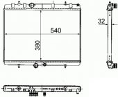 MOTOR RADYATORU P301-P2008-P207-C2-C3 ORIS BPE041