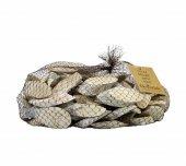Kütük Parçası Ağaç Dilimi File Beyaz 1 kg