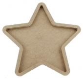 Ahşap Pano Yıldız 40 cm
