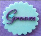 Silikon Damat (Groom) Cupcake Süs Kalıbı