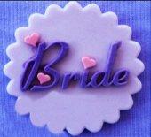 Silikon Gelin (Bride) Cupcake Süs Kalıbı