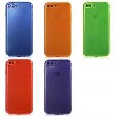 Apple İphone 7 Plus Mun Renkli Tpu Silikon...