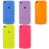 Apple İphone Se 2020 Mun Renkli Tpu Silikon...