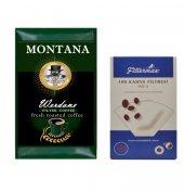 Montana Werdone Filtre Kahve 500 Gr Filtermax 2 No Filtre Kağıt