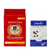 Montana Red Millienium Filtre Kahve 500 Gr 4 No...