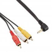 Sony DCR-PC109 DCR-PC110 DCR-PC115 DCR-PC120 AV Televizyon Görüntü Kablosu