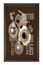 Kahve Zamanı Reklam Afiş Tablosu