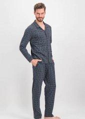 Arnetta 231 S V1 Uzun Kol Erkek Pijama Takım