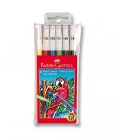 Faber Castell Keçeli Kalem 6 Renk Yıkanabilir