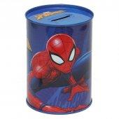 Piev Lisanlı Spiderman Metal Kumbara