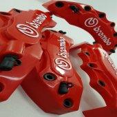 Kaliper Kapağı Brembo Kabartmalı 4' Lü Set Kırmızı