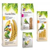 Gardenmix Platin Seri Muhabbet Kuşu Yem ve Besin Seti