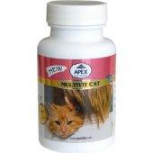Apex Multivit Cat Kediler İçin Multivitamin 75 Tablet